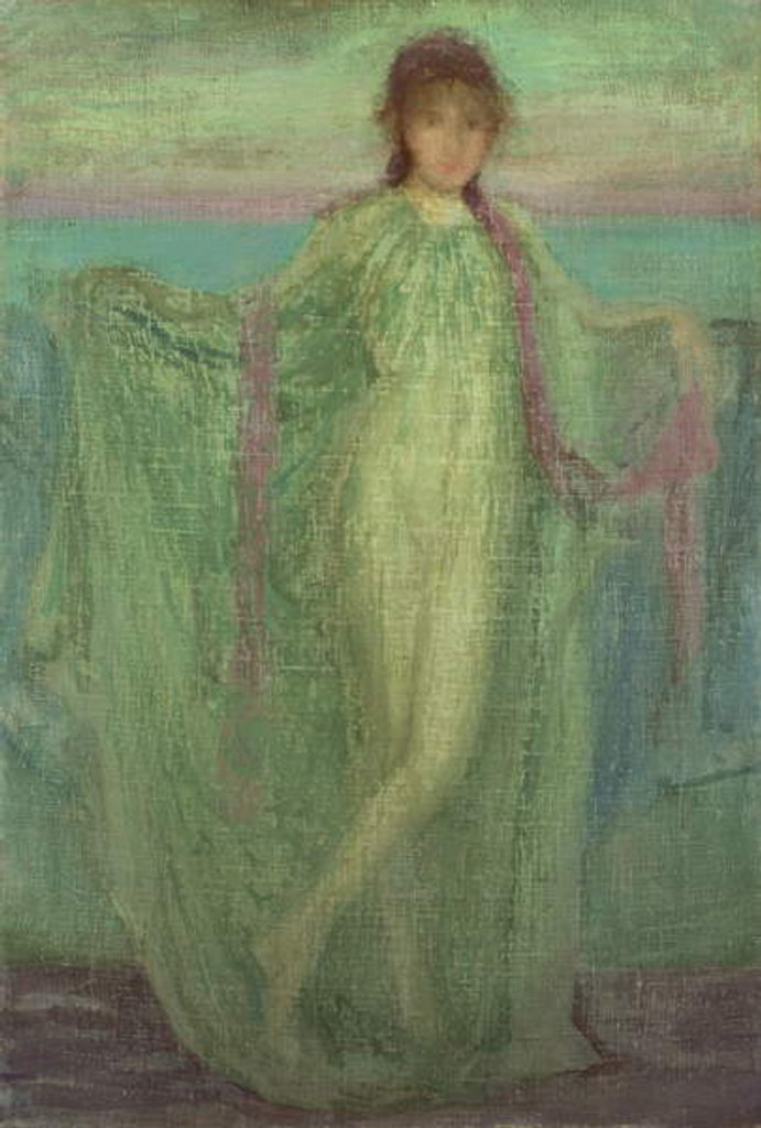 Detail of Annabel Lee by James Abbott McNeill Whistler