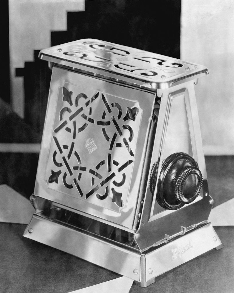 Detail of Antique Toaster by Corbis