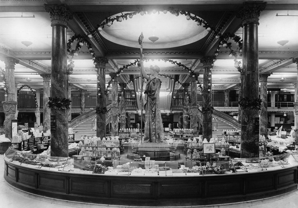 Detail of Interior of the Greenhut Siegel Cooper Company by Corbis