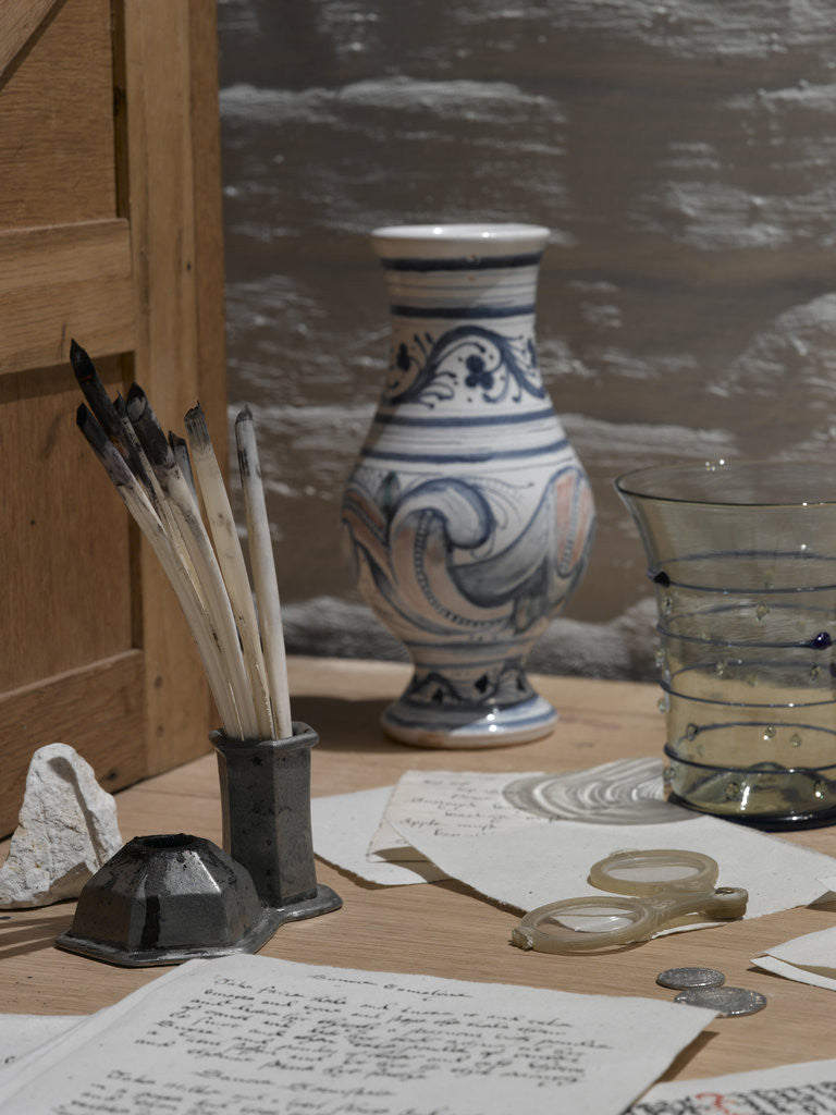 Detail of The Clerk of the Kitchen's Office, Hampton Court Palace by Nick Guttridge
