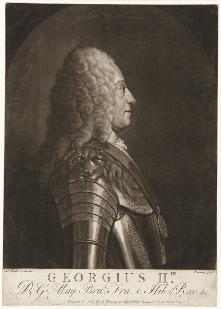 King George II by John Tinney