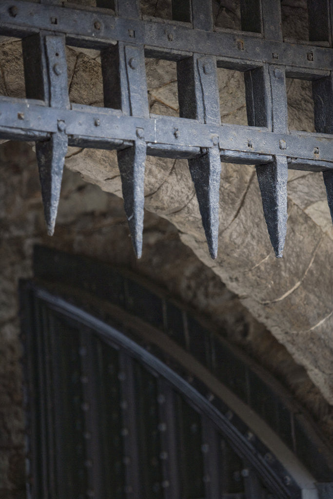 Detail of Portcullis, Tower of London by Unknown
