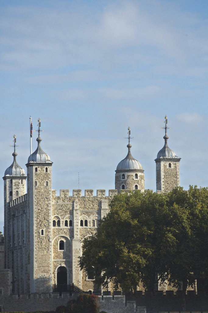 Detail of The White Tower, Tower of London by Unknown