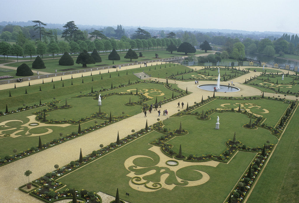 The Privy Garden, Hampton Court Palace by Vivian Russell