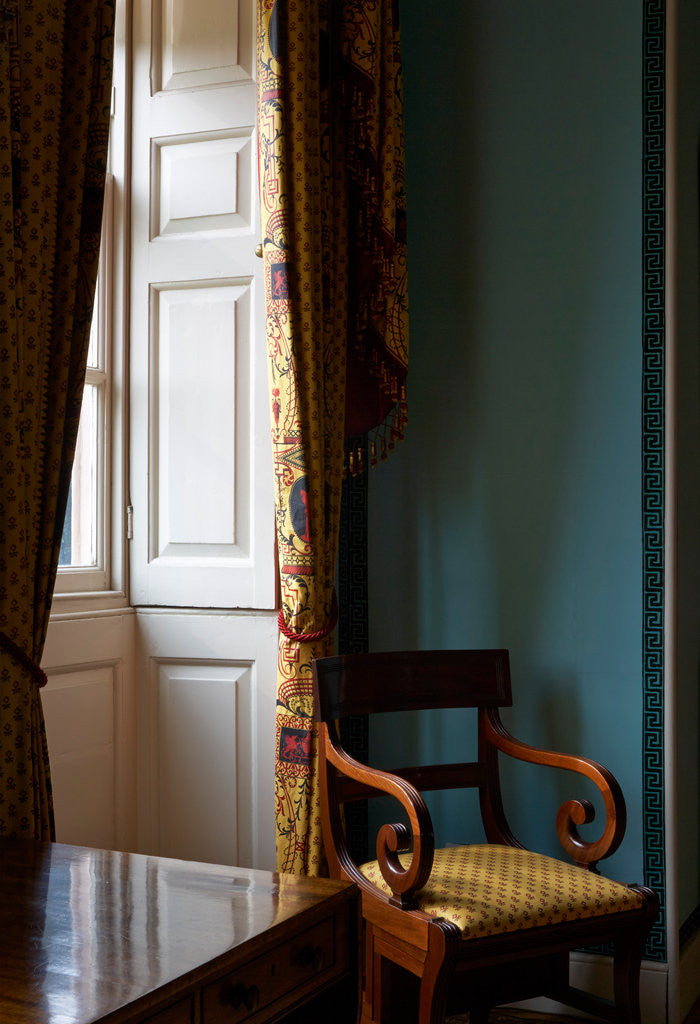 Detail of Princess Elizabeth's Bedroom, Kew Palace by James Brittain