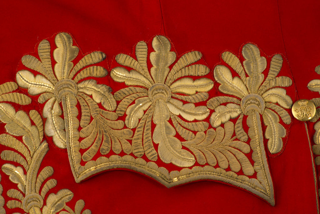 Detail of Coatee, Garter Principal King of Arms, c1902-30 by Unknown