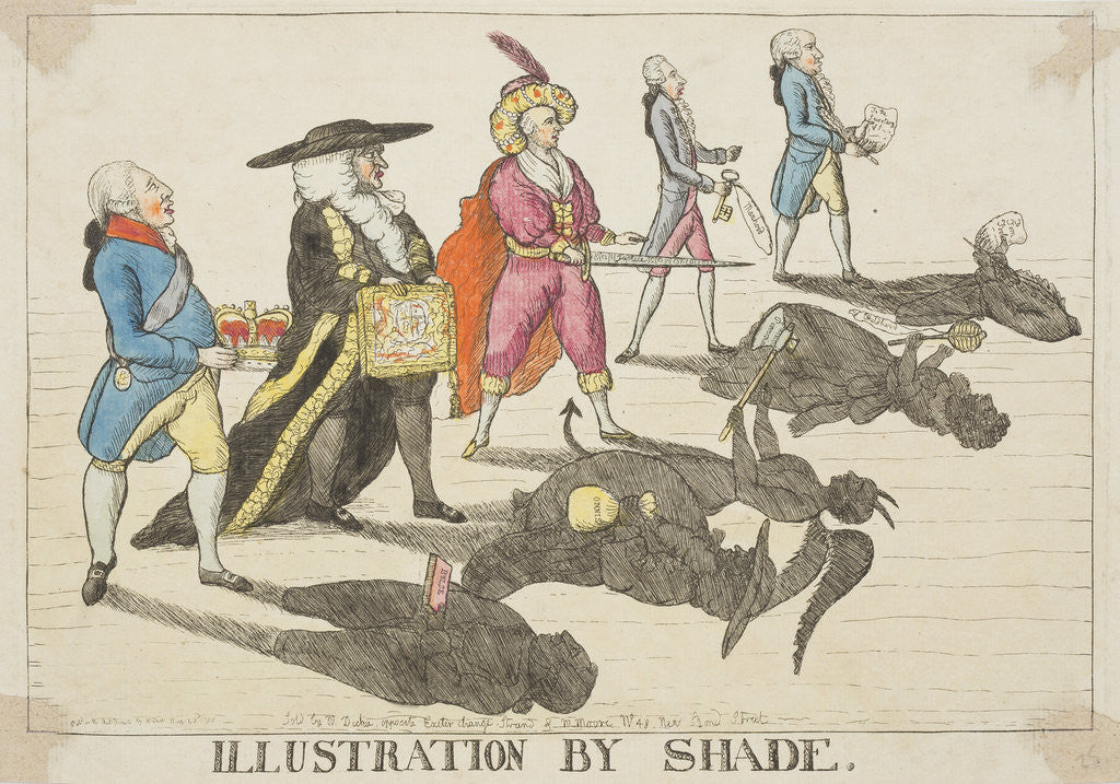Detail of Illustration by Shade, 1784 by William Dent