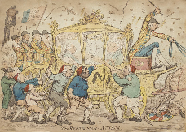 The Republican Attack 1795 Posters Amp Prints By James Gillray