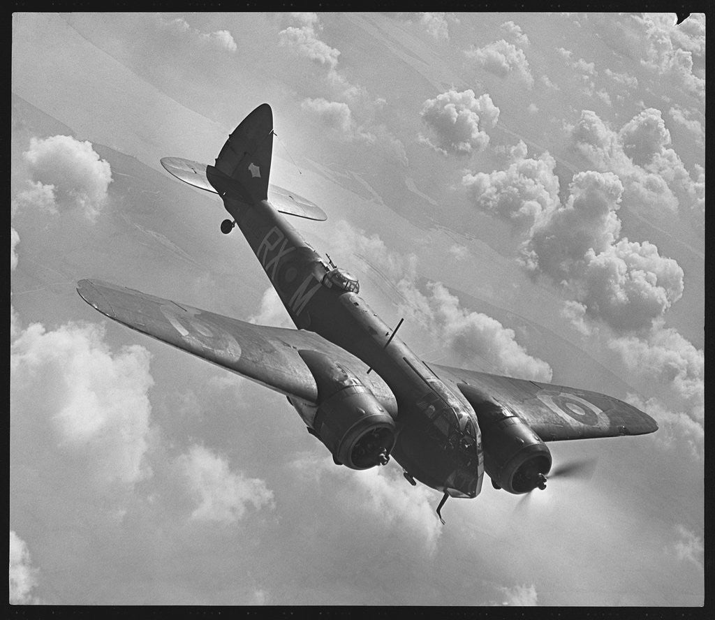 Detail of Bristol Blenheim Diving by Corbis