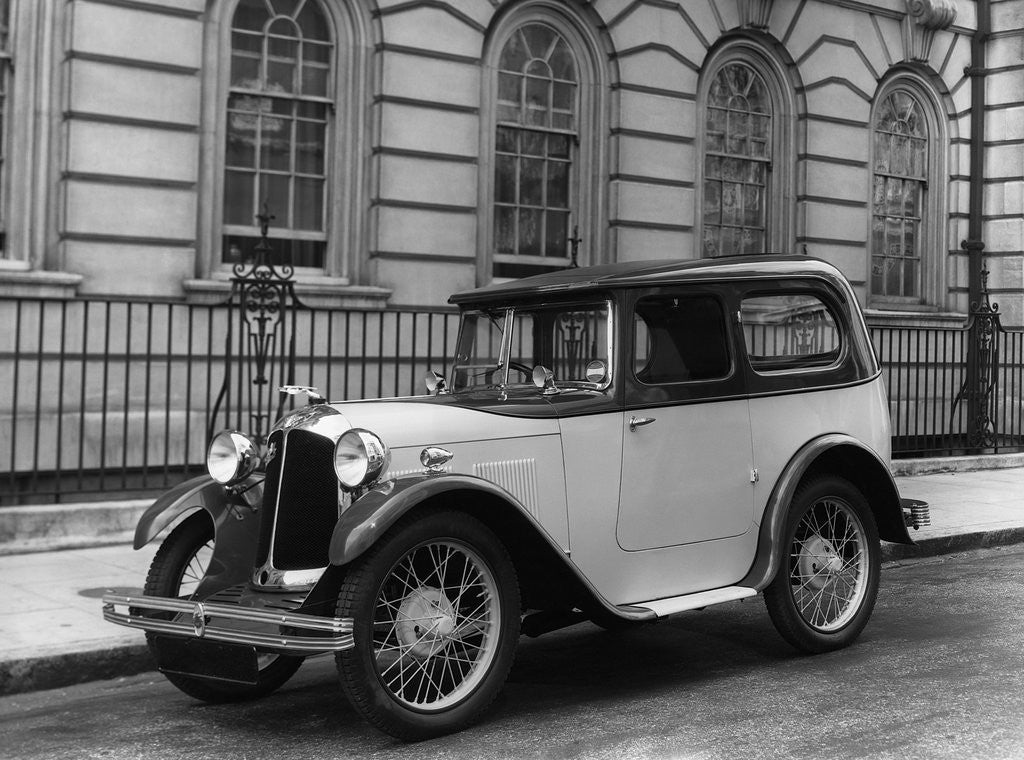 Detail of Austin Swallow Automobile by Corbis