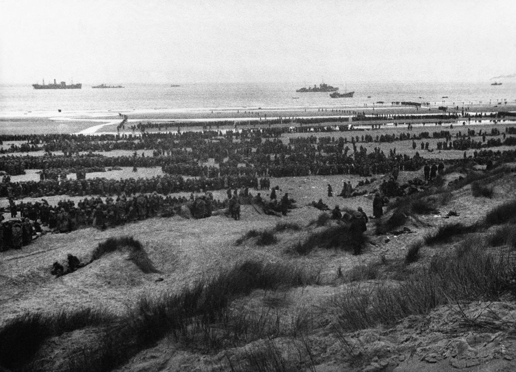 Detail of Dunkirk Evacuation by Corbis