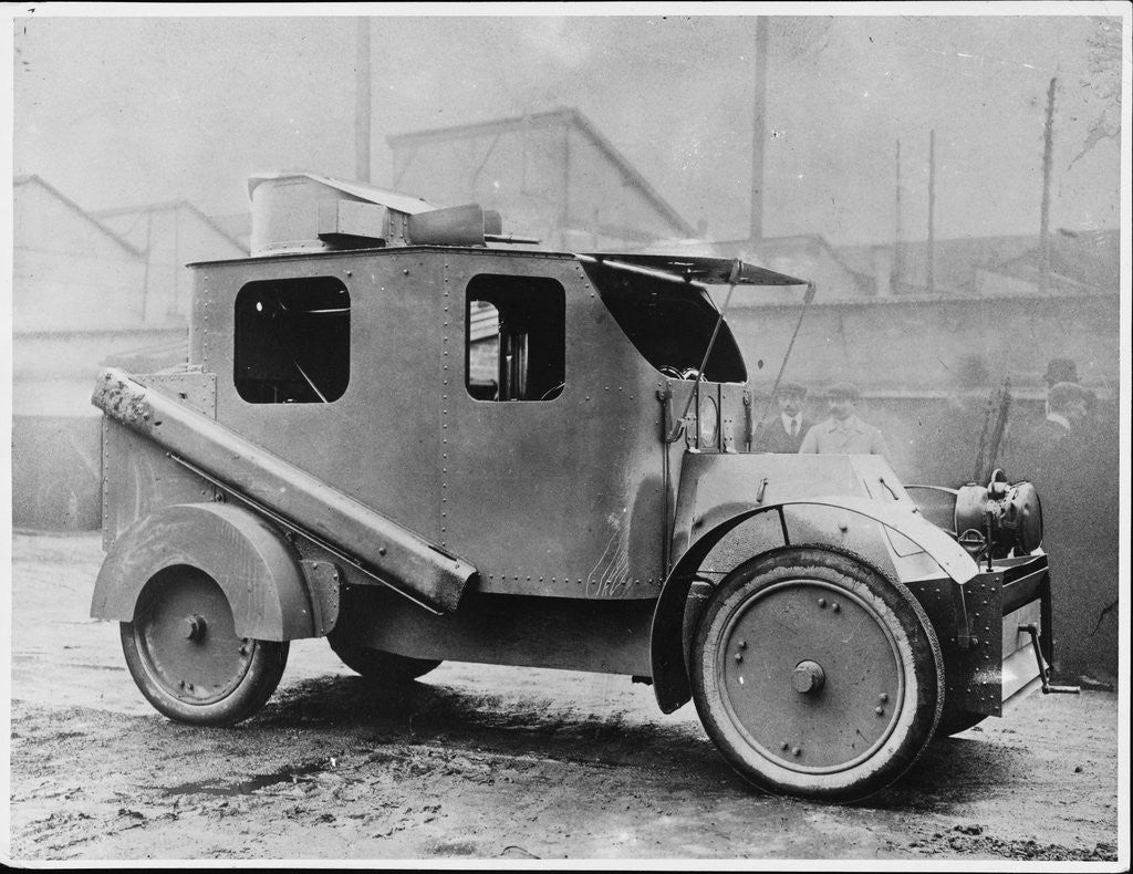 Detail of First World War French Armoured Car by Corbis