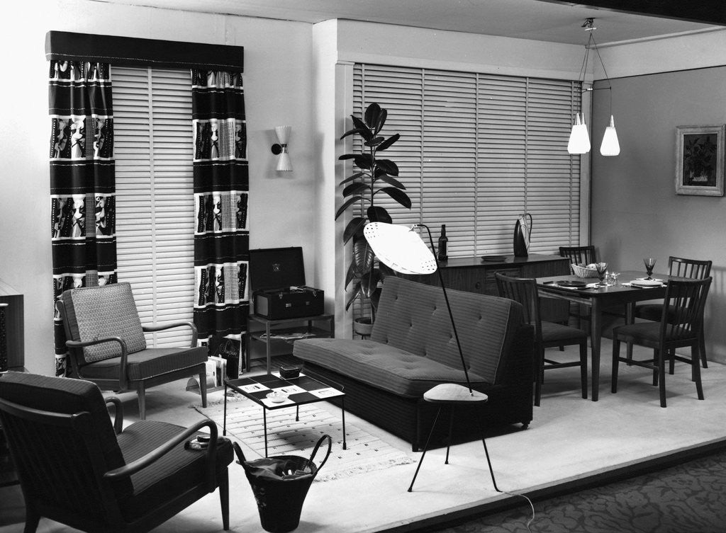 Detail of [A 1950's sitting room.] by Corbis