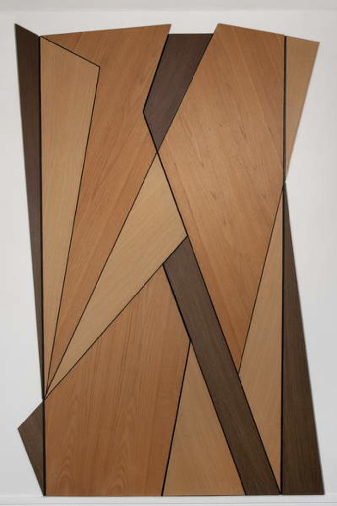 Detail of Vorticist Doors, 2012 by Carolyn Hubbard-Ford
