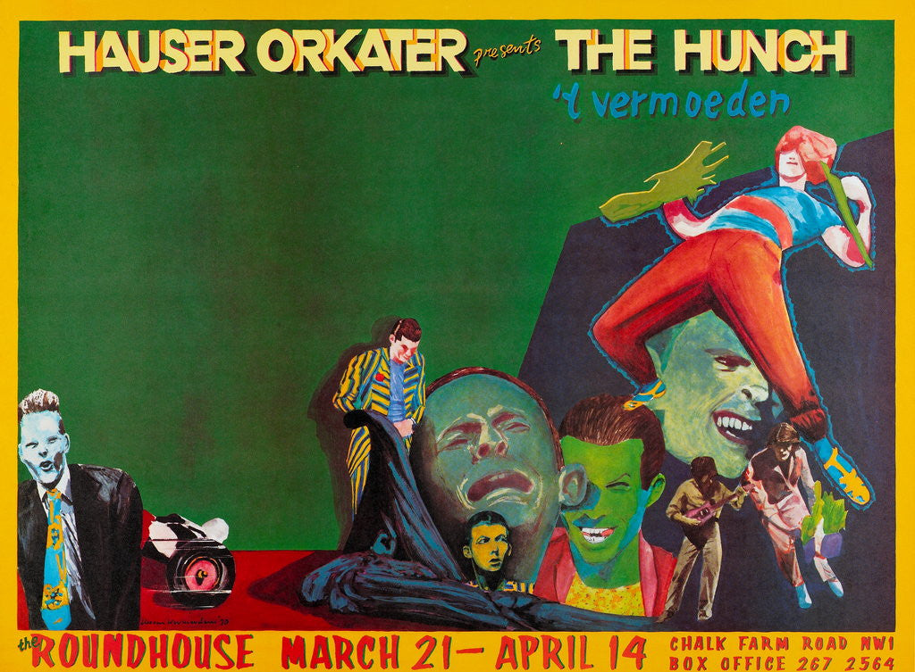 Detail of Hauser Orkater presents The Hunch by Anonymous