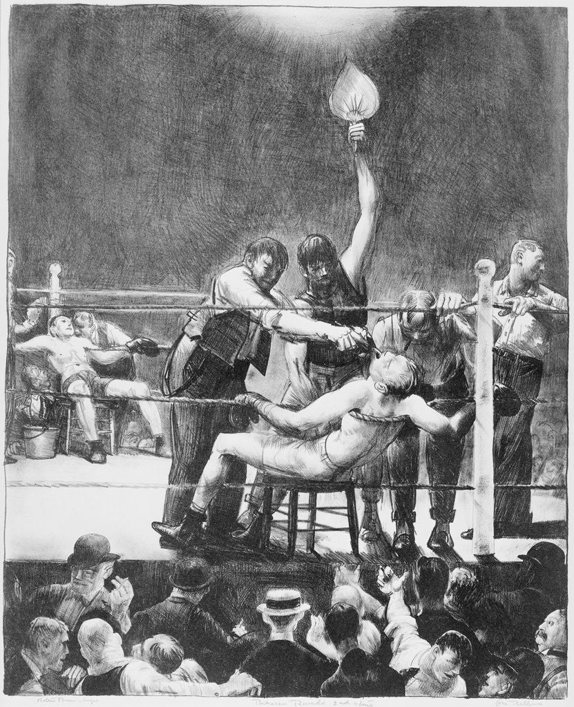 Detail of Between Rounds by George Wesley Bellows