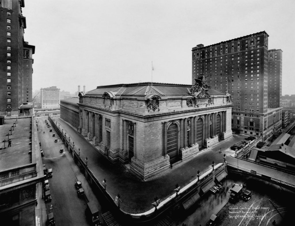 Detail of Grand Central Terminal by Corbis