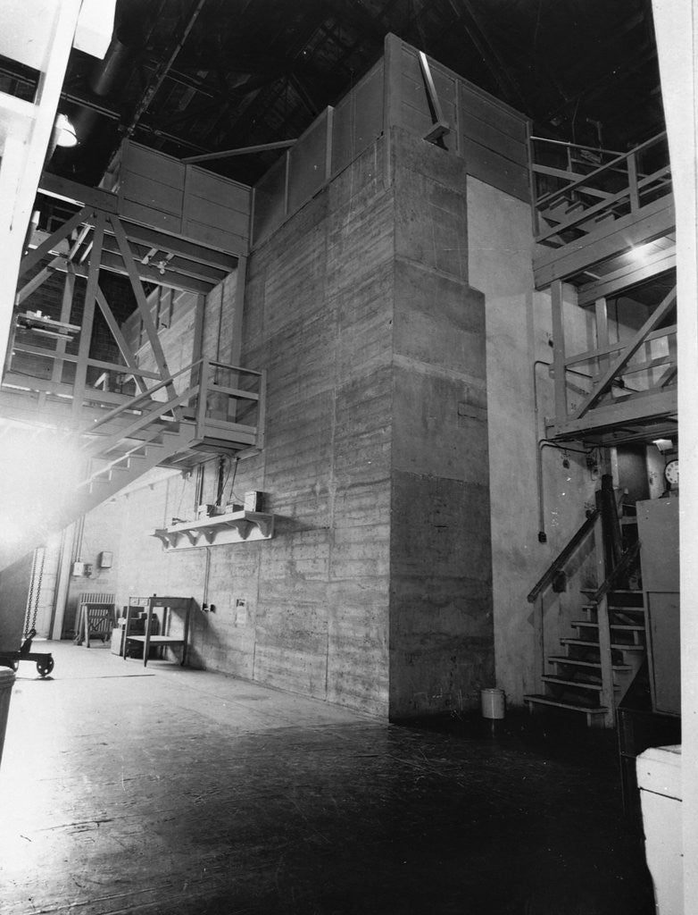 Detail of Chicago Pile I: The World's First Nuclear Reactor by Corbis