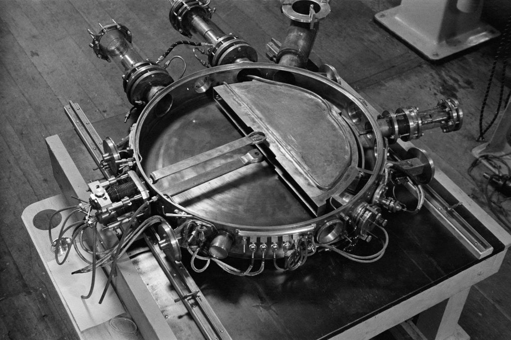 Detail of Core of Twenty-Seven Inch Cyclotron at Berkeley Radiation Laboratory by Corbis