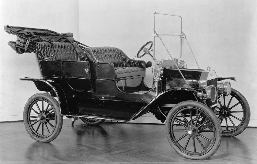 Detail of First Model T Ford by Corbis