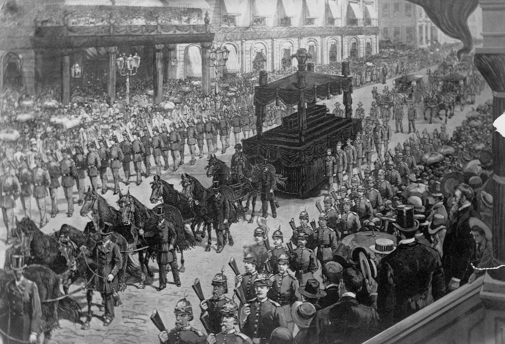 Detail of Funeral Procession of Ulysses S. Grant by Corbis