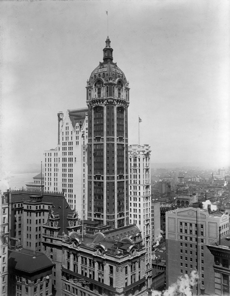 Detail of Singer Tower, New York by Corbis