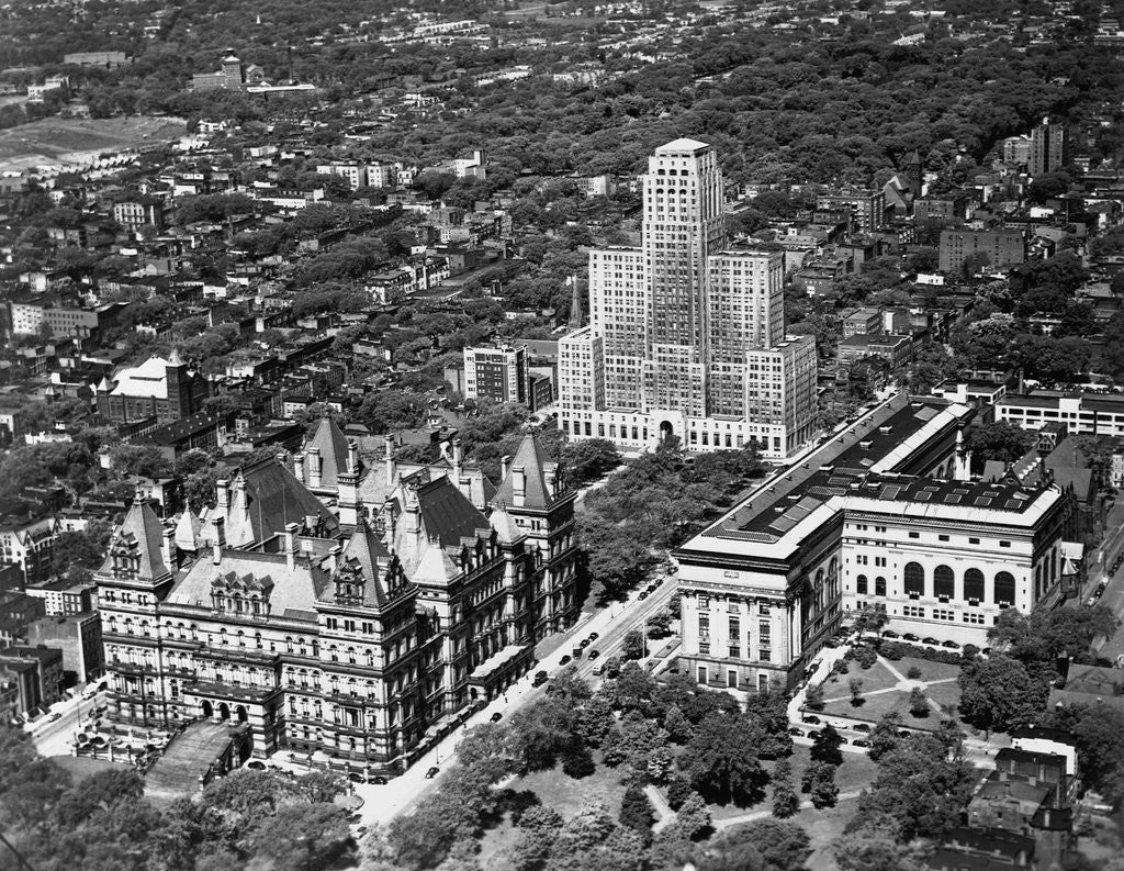 Detail of Government Buildings in Albany by Corbis