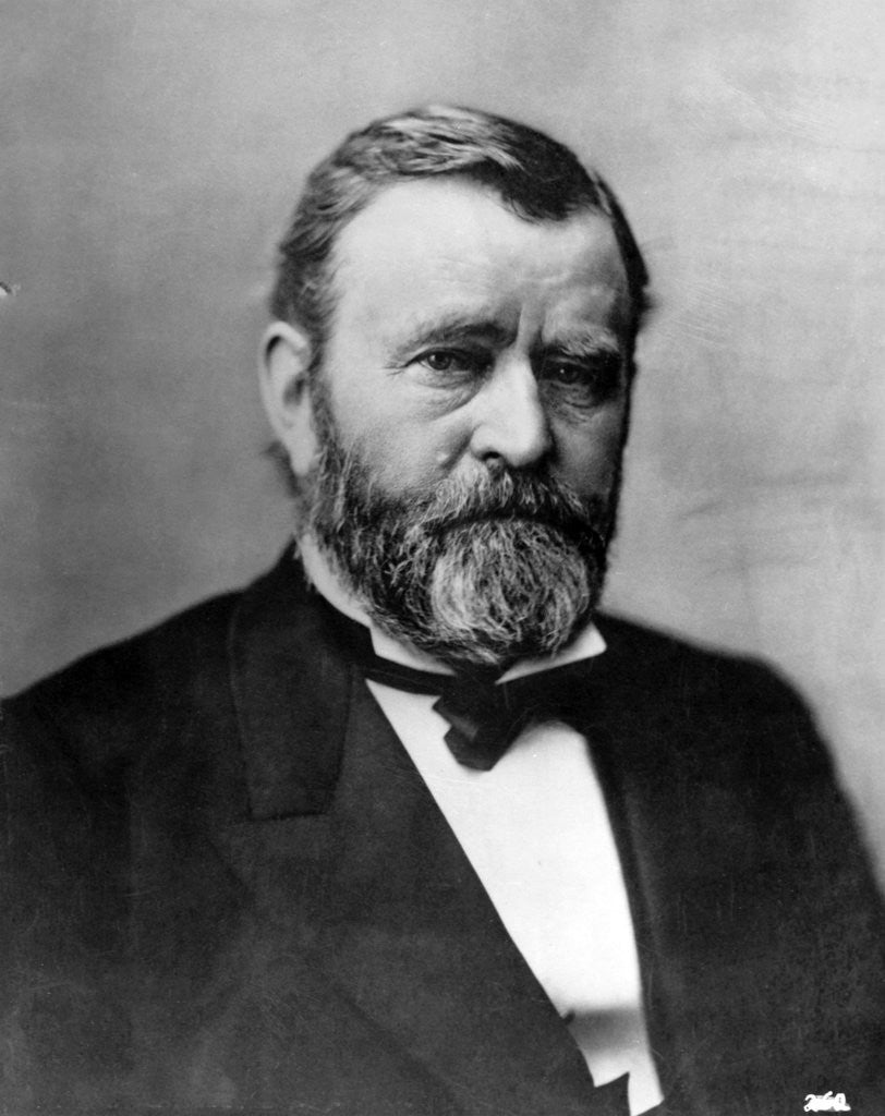 Detail of Ulysses S. Grant by Corbis