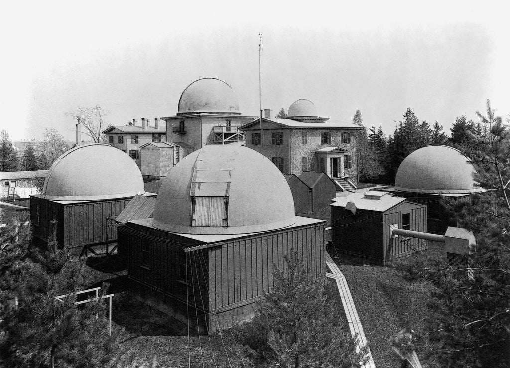 Detail of Harvard Observatory Complex by Corbis