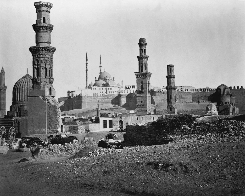 Detail of Citadel and Mosque of Muhammad 'Ali by Corbis
