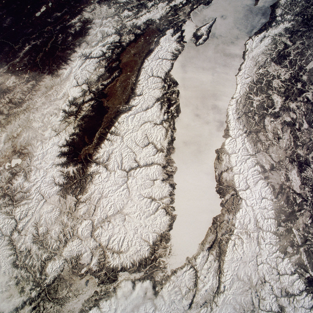 Detail of Lake Baikal by Corbis