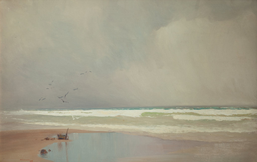 The coming storm by John Miller Nicholson