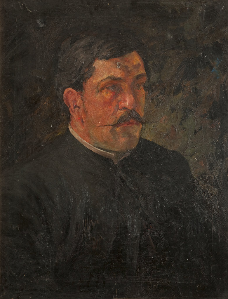 Detail of John Quine, M.A., Vicar of Lonan by Archibald Knox