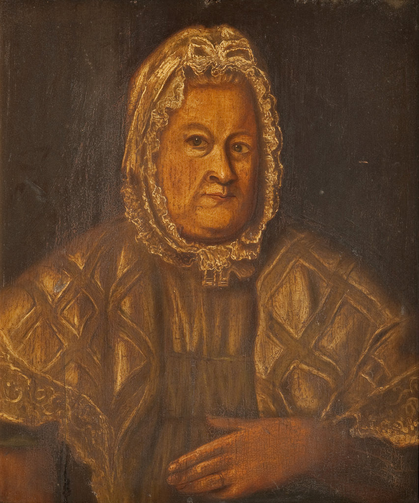 Detail of Portrait of a Manx Countrywoman by Anonymous