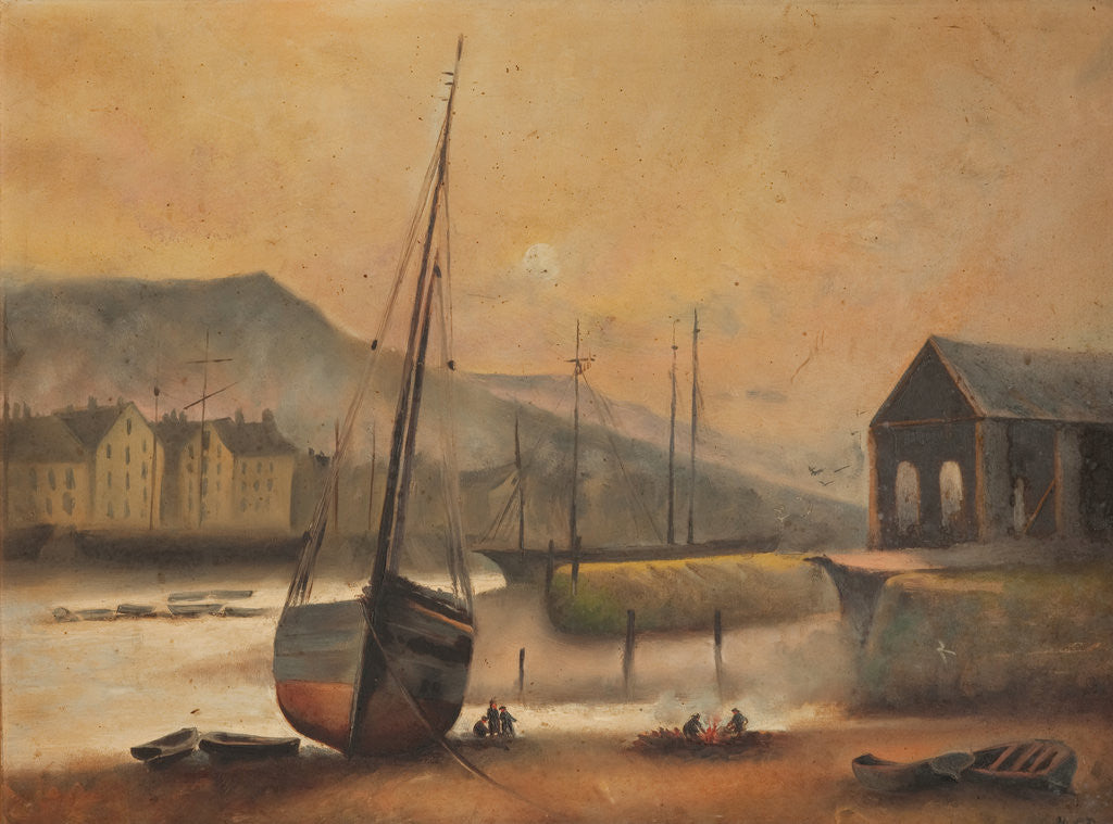 Ramsey Harbour and Quay by Anonymous