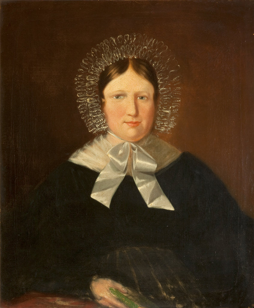 Detail of Portrait of Mary Anna Quiggin by Anonymous