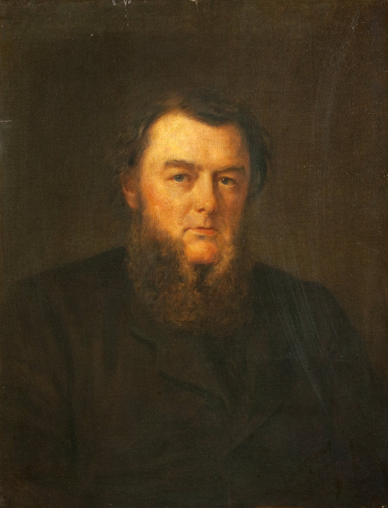 Detail of Portrait of Hugh Stowell Brown (1823-1886) by Edwin Long
