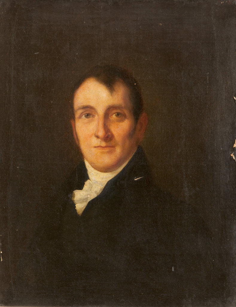Detail of A Portrait of Mr John Kermode, Brewer, of Ballasalla by Anonymous