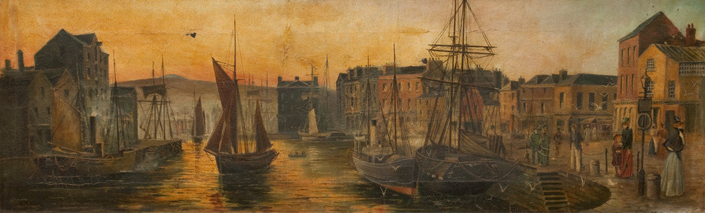 Detail of Douglas Harbour by Henry Johnson