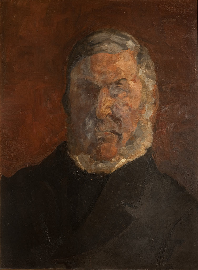 Detail of William Gell by Archibald Knox