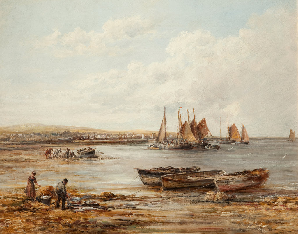 Detail of Port St Mary by William Webb