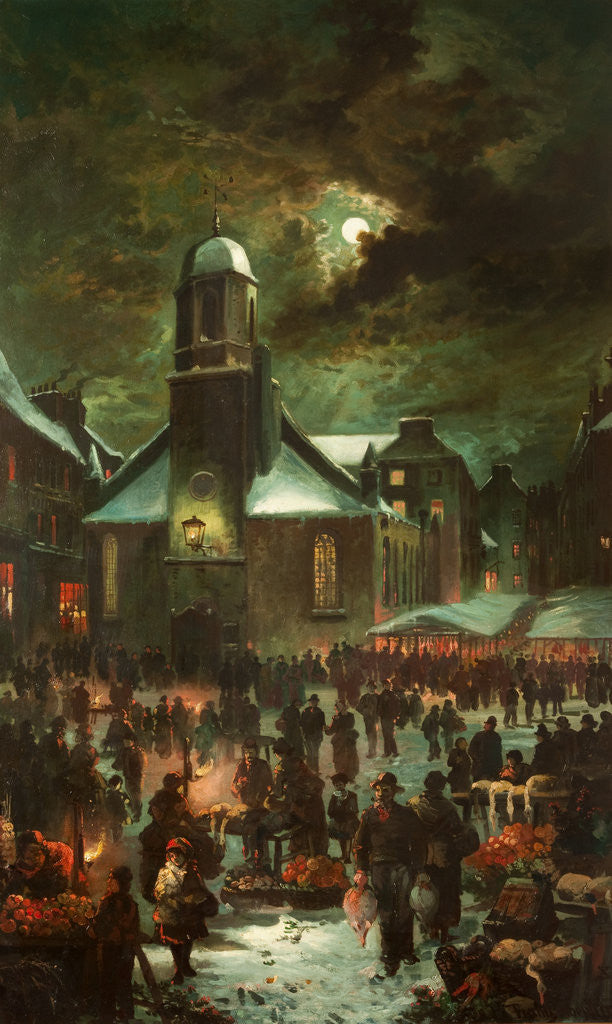 Goose Fair, Old St Matthew's Church by Franz Hoepfner