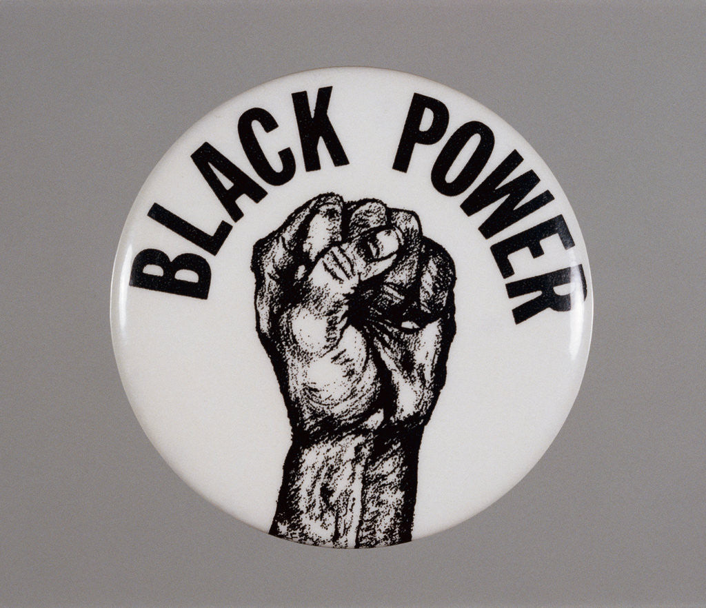 Detail of Black Power Button by Corbis