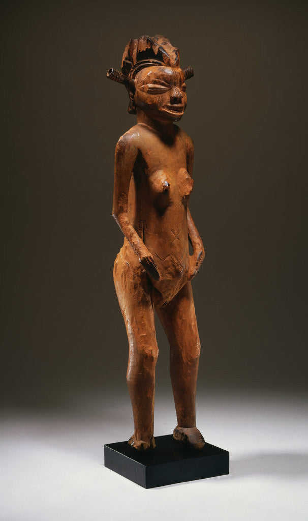 Detail of A Pende Female Figure by Corbis