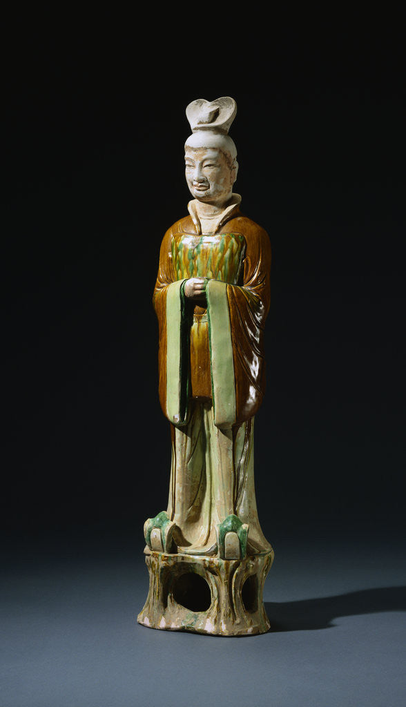 Sancai-glazed Pottery Figure of an Official
