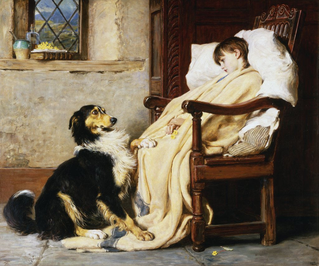 Old Playfellows Posters Amp Prints By Briton Riviere