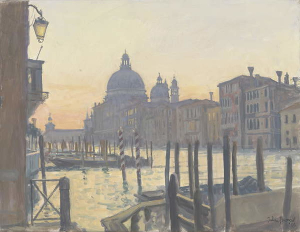 Detail of Sunrise Grand Canal, 2009 by Julian Barrow