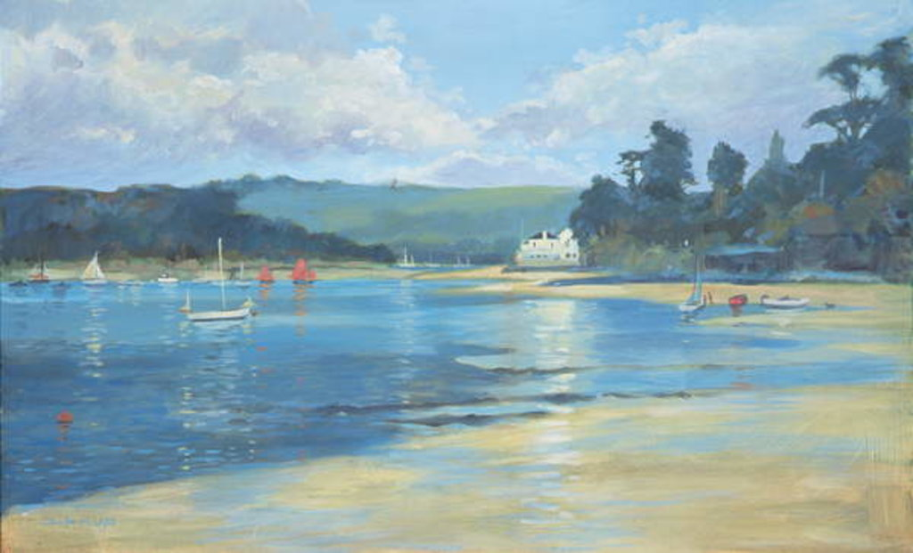 Detail of Salcombe - Late Afternoon Light, 2008 by Jennifer Wright