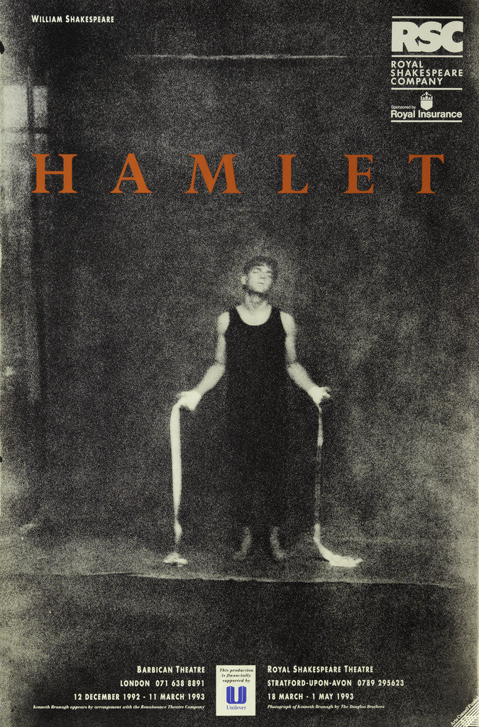 Detail of Hamlet, 1992/3 by Adrian Noble