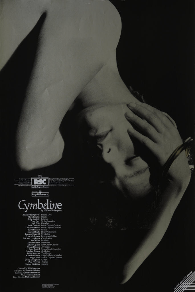 Detail of Cymbeline, 1989 by Bill Alexander